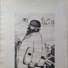 Arte: GRABADO AL AGUAFUERTE FRANCESC ARTIGAU SEGUI FIRMADO Y NUMERADO 6/50 AÑO 1968. Lote 183618595
