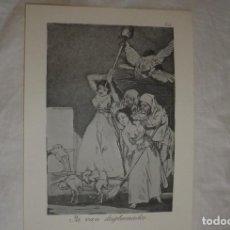 Arte: LOS CAPRICHOS DE GOYA. SERIE COMPLETA DE LOS 80 GRABADOS. Lote 183794736