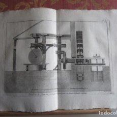 Arte: 1785-PÓLVORA.FABRICACIÓN.FUEGOS ARTIFICIALES.MÁQUINAS,HERRAMIENTAS. 19 GRABADOS ORIGINALES.GRANDES. Lote 183984805