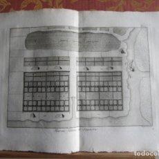 Arte: 1785-SALINAS.EXTRACCIÓN DE SAL.MÁQUINAS,HERRAMIENTAS. 6 GRABADOS ORIGINALES.GRANDES. Lote 183987326