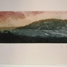 Arte: CLARA GANGUTIA GRABADO . Lote 184132030