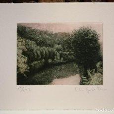 Arte: CLARA GANGUTIA GRABADO. Lote 184132458