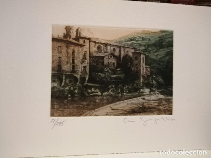 CLARA GANGUTIA GRABADO (Arte - Grabados - Contemporáneos siglo XX)