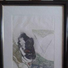 Arte: LUCIO MUÑOZ- AGUAFUERTE- 1982. Lote 184202802