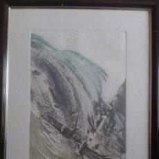Arte: LUCIO MUÑOZ- AGUAFUERTE- 1982. Lote 184202980
