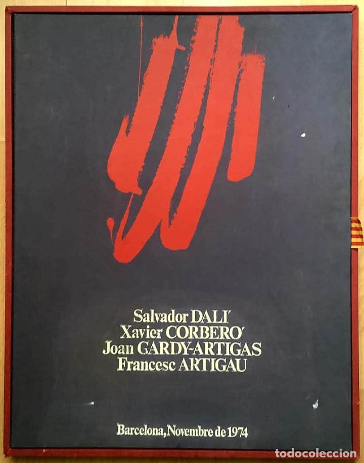 EDICIÓN DE LUJO HOMENAJE FCBARCELONA CON GRABADOS ORIGINALES DE DALÍ, CORBERÓ,ARTIGAU,GANDY-ARTIGAS (Arte - Grabados - Contemporáneos siglo XX)