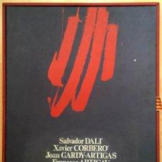 Arte: EDICIÓN DE LUJO HOMENAJE FCBARCELONA CON GRABADOS ORIGINALES DE DALÍ, CORBERÓ,ARTIGAU,GANDY-ARTIGAS. Lote 184248945