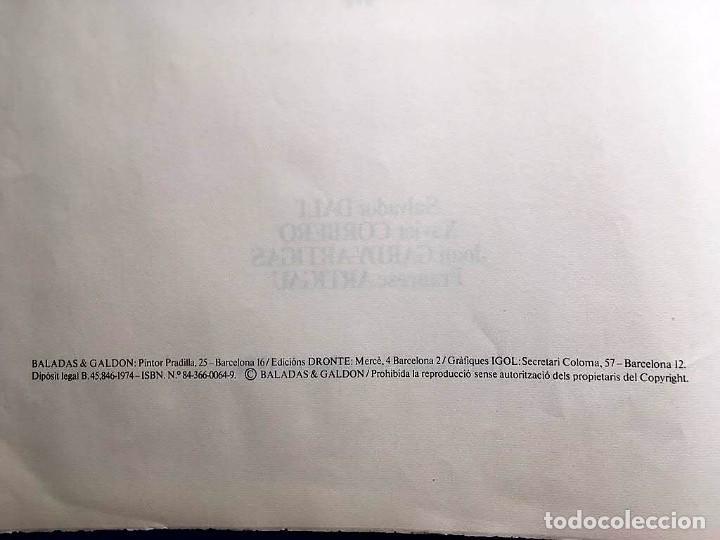 Arte: Edición de lujo Homenaje FCBarcelona con grabados originales de Dalí, Corberó,Artigau,Gandy-Artigas - Foto 4 - 184248945