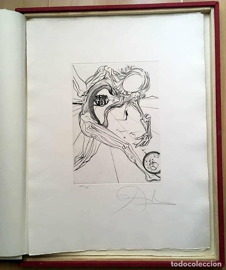 Arte: Edición de lujo Homenaje FCBarcelona con grabados originales de Dalí, Corberó,Artigau,Gandy-Artigas - Foto 6 - 184248945