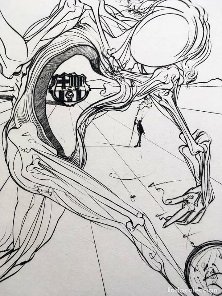 Arte: Edición de lujo Homenaje FCBarcelona con grabados originales de Dalí, Corberó,Artigau,Gandy-Artigas - Foto 7 - 184248945