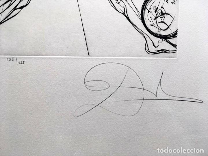Arte: Edición de lujo Homenaje FCBarcelona con grabados originales de Dalí, Corberó,Artigau,Gandy-Artigas - Foto 11 - 184248945