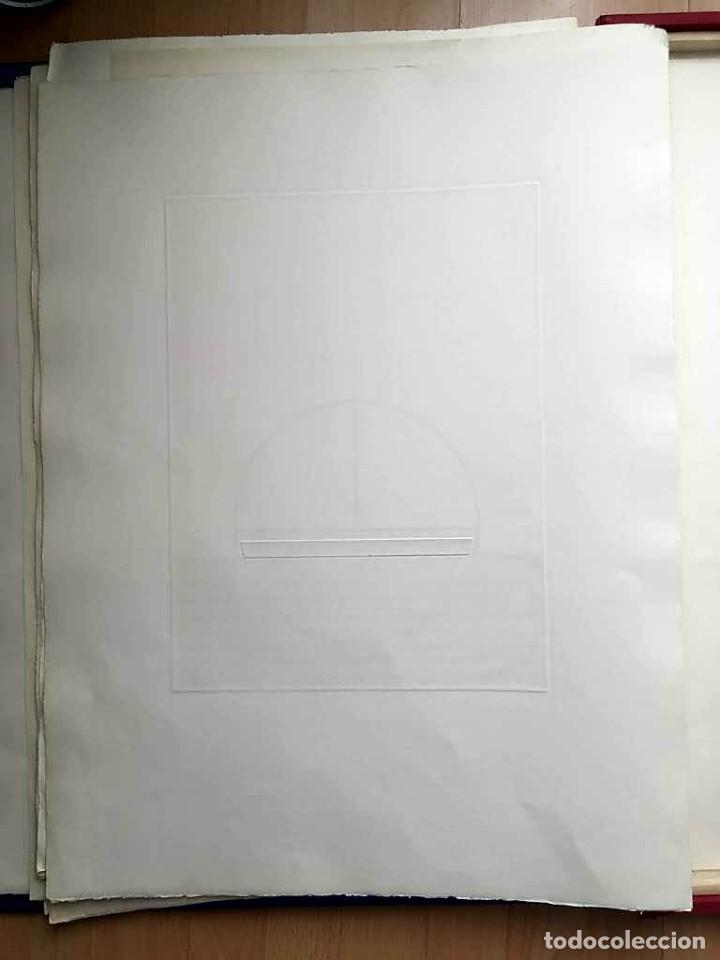 Arte: Edición de lujo Homenaje FCBarcelona con grabados originales de Dalí, Corberó,Artigau,Gandy-Artigas - Foto 19 - 184248945