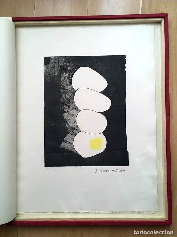 Arte: Edición de lujo Homenaje FCBarcelona con grabados originales de Dalí, Corberó,Artigau,Gandy-Artigas - Foto 20 - 184248945