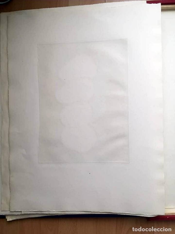Arte: Edición de lujo Homenaje FCBarcelona con grabados originales de Dalí, Corberó,Artigau,Gandy-Artigas - Foto 21 - 184248945