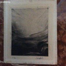Arte: GRABADO CON FIRMA AUTOR 18CMX14CM.. Lote 184276706