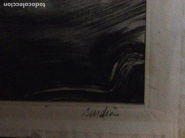 Arte: Grabado con firma autor 18cmx14cm. - Foto 2 - 184276706
