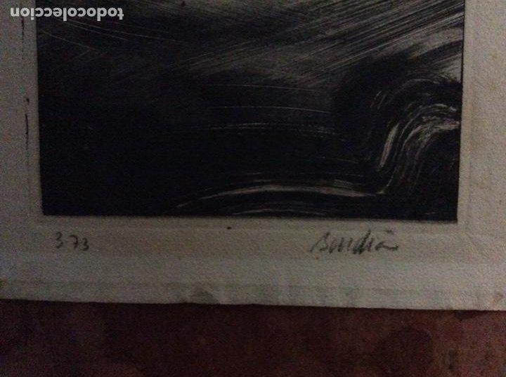 Arte: Grabado con firma autor 18cmx14cm. - Foto 3 - 184276706