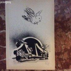 Arte: GRABADO CON FIRMA DEL AUTOR 42CMX30CM.. Lote 184277178