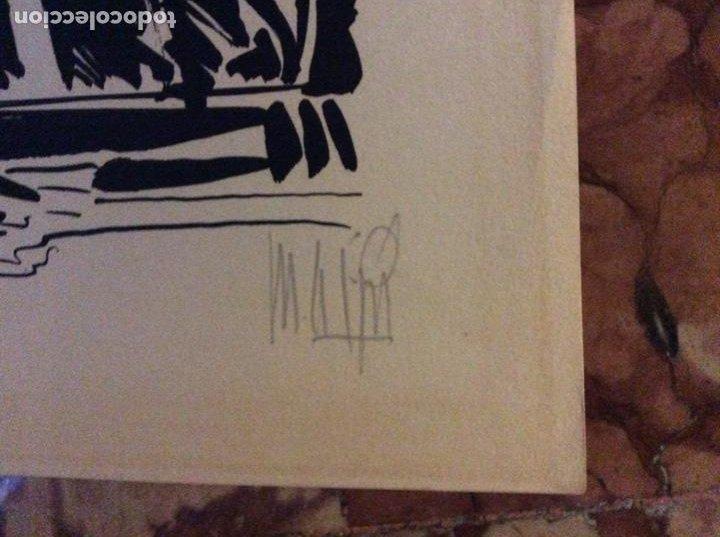 Arte: Grabado con firma del autor 42cmx30cm. - Foto 5 - 184277178