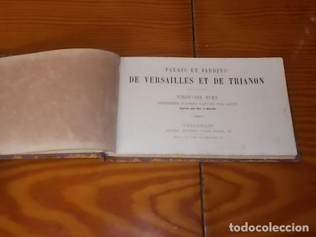 Arte: PALACIOS Y JARDINES DE VERSALLES Y DE TRIANON. 26 GRABADOS ILUSTRADOS POR JAIME . BRUNOX EDITOR . - Foto 3 - 184341880