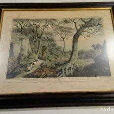 Arte: DOS GRANDES GRABADOS ENMARCADOS EDWARD ORME. Lote 184353016