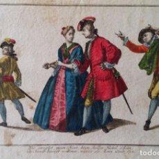 Arte: GRABADO COLOREADO EXCEPCIONAL, 1820. Lote 184767748