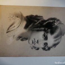 Arte: GRABADO FRANCÉS FINALES SIGLO XIX-PRINCIPIOS SIGLO XX. RETRATO DE UNA JOVEN. ZERLINA.. Lote 184874122