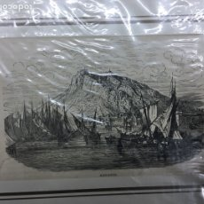 Arte: 1880-GRABADO ORIGINAL.XILOGRAFÍA. ALICANTE.. Lote 185727573