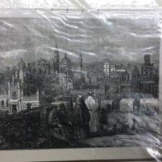 Arte: 1840-GRABADO ORIGINAL.XILOGRAFÍA. JEREZ.. Lote 185727743