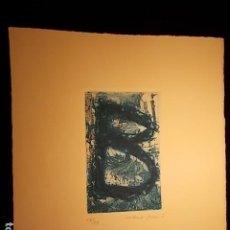 Arte: GRABADO, FIRMADO Y NUMERADO. Lote 185939143