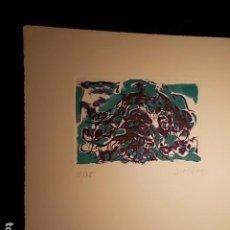 Arte: GRABADO FIRMADO Y NUMERADO. Lote 185939285