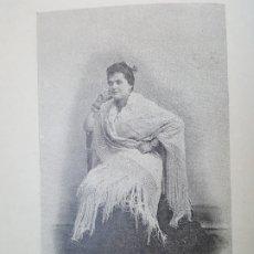 Arte: FOTOGRABADO 1896. MALAGA. RONDA. RONDEÑA. ORIGINAL. PROCEDE DEL CALLEJA. 14 X 14 CM. Lote 186101321