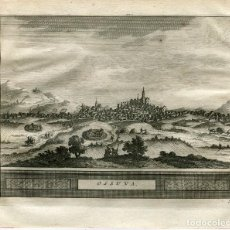Arte: SEVILLA. OSUNA. GRABADO PIETER VAN DER AA, 1715. Lote 186170771