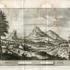 Arte: MALAGA. ARCHIDONA. GRABADO POR PIETER VAN DER AA, 1715.. Lote 186171125