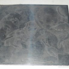 Arte: (M) PLANCHA PARA IMPRIMIR DE JOSEP GRANYER - LA ROSA VERA L'AFRICA NEGRA, ORIGINAL. Lote 186392327