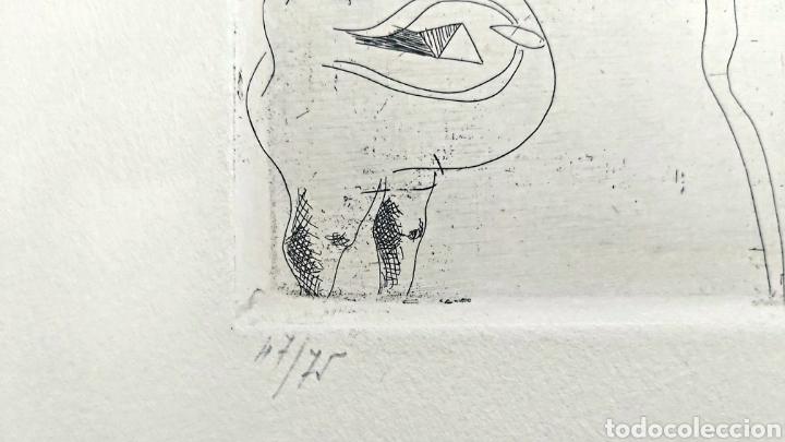 Arte: GRABADO JORGE CASTILLO (PONTEVEDRA 1933) 78x57cm - Foto 3 - 186455926