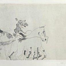 Arte: GRABADO JORGE CASTILLO (PONTEVEDRA 1933) 78X57CM. Lote 186455926