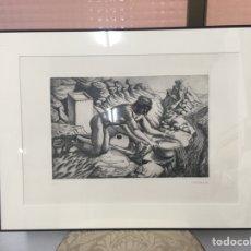 Arte: GRABADO FIRMADO. Lote 187294003