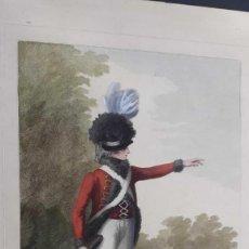Arte: GRABADO - AGUATINTA - 1791 - LIGHT HORSEMAN - HENRY WILLIAM BUNBURY. Lote 187372008