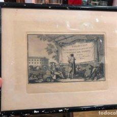 Arte: 5 GRABADOS TAURINOS DE LAS PRINCIPALES SUERTES DE UNA CORRIDA DE TOROS - LUS FERNANDEZ NOSERET. Lote 187382260