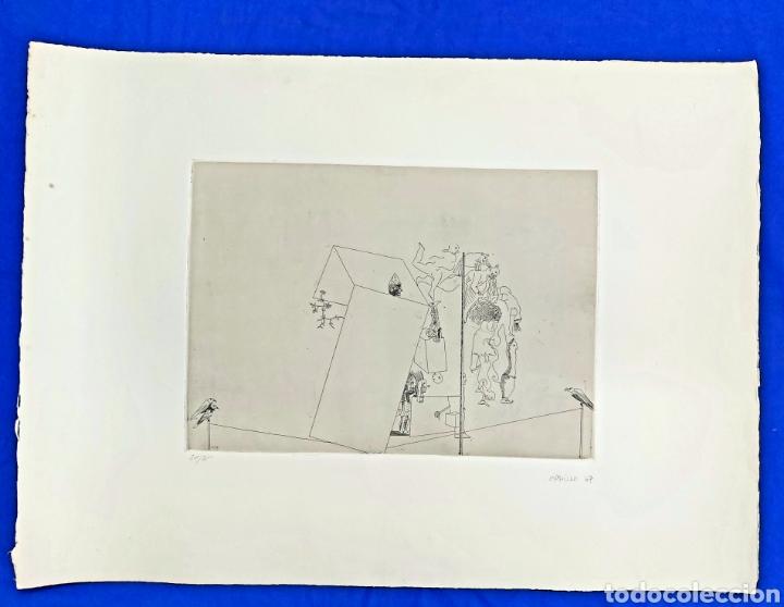 Arte: GRABADO JORGE CASTILLO CASALDERREY (PONTEVEDRA 1933) - Foto 2 - 187457127
