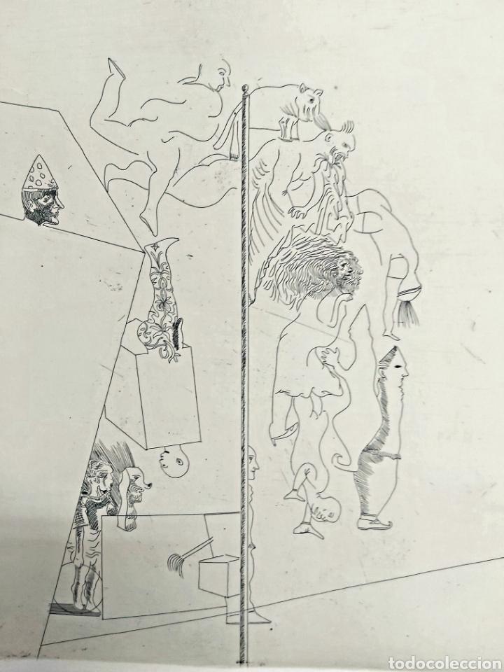 Arte: GRABADO JORGE CASTILLO CASALDERREY (PONTEVEDRA 1933) - Foto 4 - 187457127