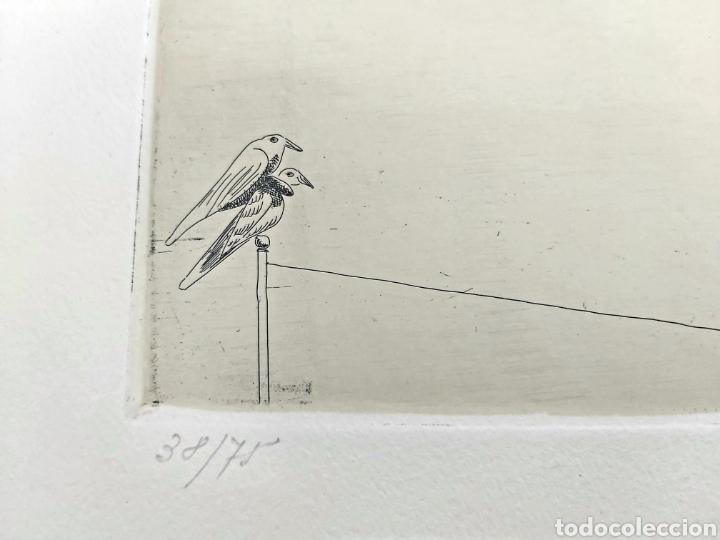 Arte: GRABADO JORGE CASTILLO CASALDERREY (PONTEVEDRA 1933) - Foto 5 - 187457127