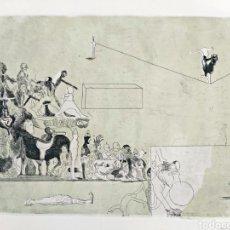Arte: GRABADO JORGE CASTILLO CASALDERREY (PONTEVEDRA 1933). Lote 187457748