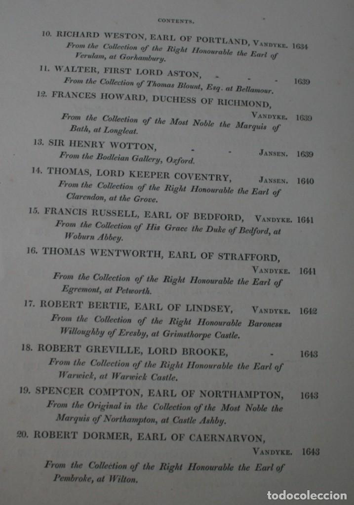 Arte: LODGE´S PORTRAITS – 20 GRABADOS Y BIOGRAFIA ILUSTRES PERSONAJES GRAN BRETANA 1835 - VOLUMEN v - Foto 3 - 187508928