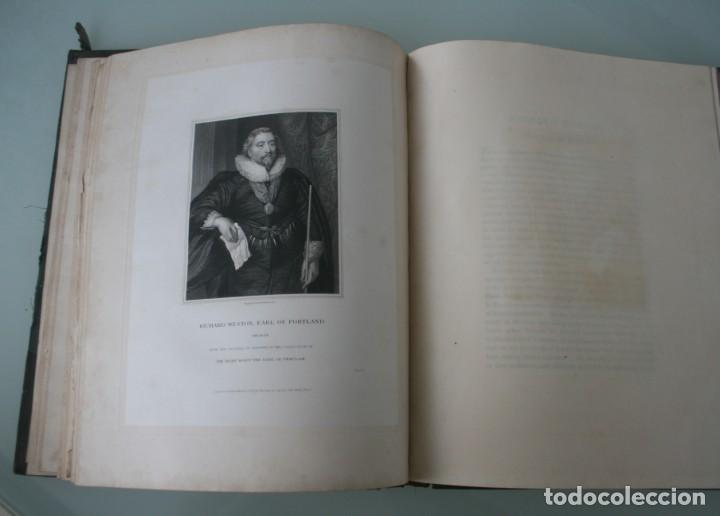 Arte: LODGE´S PORTRAITS – 20 GRABADOS Y BIOGRAFIA ILUSTRES PERSONAJES GRAN BRETANA 1835 - VOLUMEN v - Foto 8 - 187508928