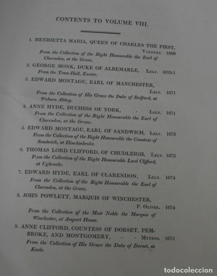 Arte: LODGE´S PORTRAITS – 20 GRABADOS Y BIOGRAFIA ILUSTRES PERSONAJES GRAN BRETANA 1835 - VOLUMEN VIII - Foto 2 - 187509235