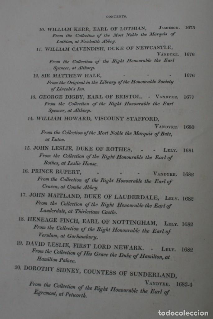Arte: LODGE´S PORTRAITS – 20 GRABADOS Y BIOGRAFIA ILUSTRES PERSONAJES GRAN BRETANA 1835 - VOLUMEN VIII - Foto 3 - 187509235