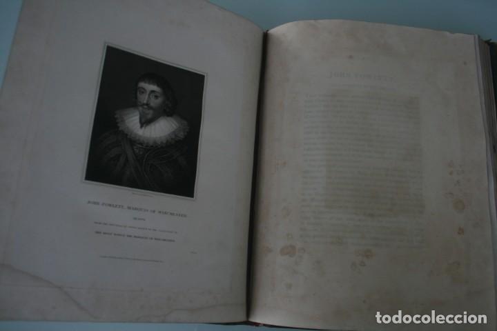 Arte: LODGE´S PORTRAITS – 20 GRABADOS Y BIOGRAFIA ILUSTRES PERSONAJES GRAN BRETANA 1835 - VOLUMEN VIII - Foto 5 - 187509235