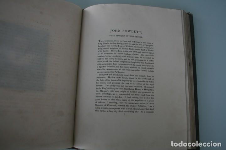 Arte: LODGE´S PORTRAITS – 20 GRABADOS Y BIOGRAFIA ILUSTRES PERSONAJES GRAN BRETANA 1835 - VOLUMEN VIII - Foto 6 - 187509235